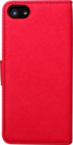 Flip case for Apple iPhone 5/5s with Mirror, Red by The Kase Collection