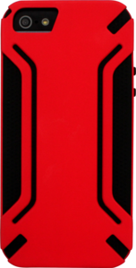 Case for Apple iPhone 5/5S, Red Anti-shock by The Kase Collection