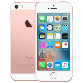 iPhone SE reconditionné 64 Go, Or rose, débloqué