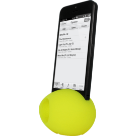 ŒOeuf Amplificateur de son pour Apple iPhone 5/5s/5C/SE, Jaune