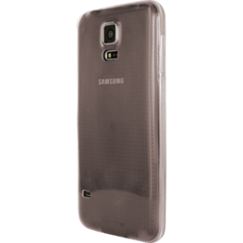 Coque pour Samsung Galaxy S5, Ultra Slim 0,6mm Transparent Noir