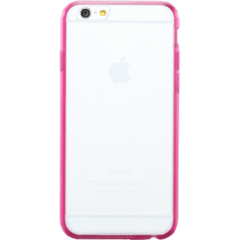 Coque slim transparente pour Apple iPhone 6/6s, Rose