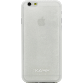 Coque en silicone pailletée slim pour Apple iPhone 6/6s 0,9mm, Blanc transparent