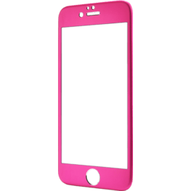 Protection d'écran en Alliage de Titane et verre trempé pour Apple iPhone 6/6s, Rose
