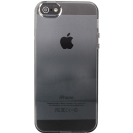 Coque pour Apple iPhone 5/5s/SE, silicone Gris