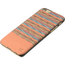 Coque bois pour Apple iPhone 6/6s, Browny Check