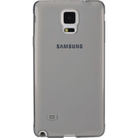 Coque slim invisible pour Samsung Galaxy Note 4 N910U/N910F 1,2mm, Gris Transparent