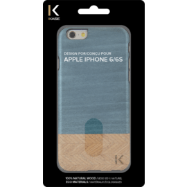 Coque bois pour Apple iPhone 6/6s, Denim & Hazel