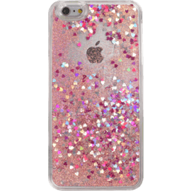 Bling Bling Coque Pailletée pour Apple iPhone 6 Plus/6s Plus, Pink Lady