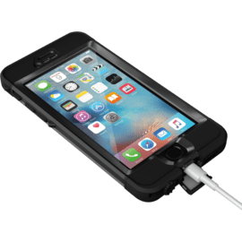 Lifeproof Nüüd Waterproof Coque pour Apple iPhone 6s, Noir
