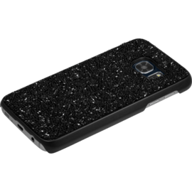 Coque Bling Strass pour Samsung Galaxy S7, Minuit Noir