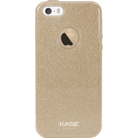 Coque slim pailletée étincelante pour Apple iPhone 5/5s/SE, Or