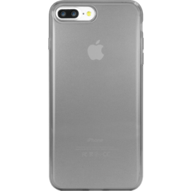 (On hold) Coque silicone pour Apple iPhone 7 Plus/8 Plus, Gris Transparent