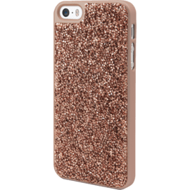 Coque Bling Strass pour Apple iPhone 5/5s/SE , Or Rose