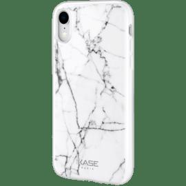 Coque effet marbré pour Apple iPhone XR, Blanc | Switch Mobile