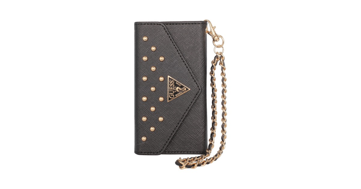 32d1fedab3d Guess Studded Clutch for Apple iPhone 5/5s/SE, Black   Apple iPhone 5/5s/SE    The Kase