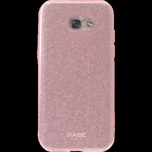 Coque slim pailletée étincelante pour Samsung Galaxy A3 (2017), Or Rose